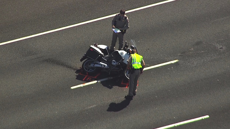 Motorcyclist dead after crash on I680