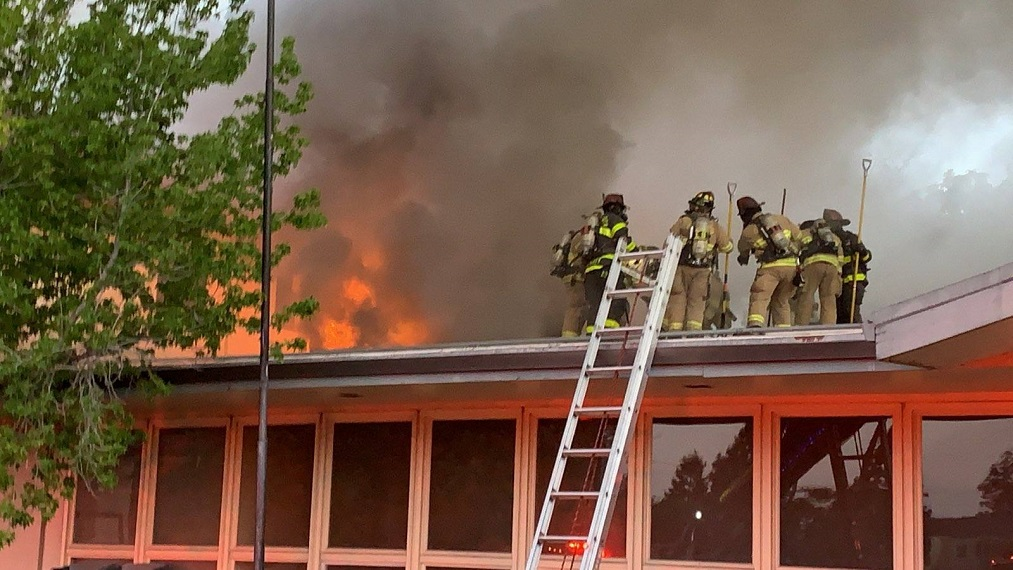 Two-Alarm Fire damages Church Of Nazarene in Concord