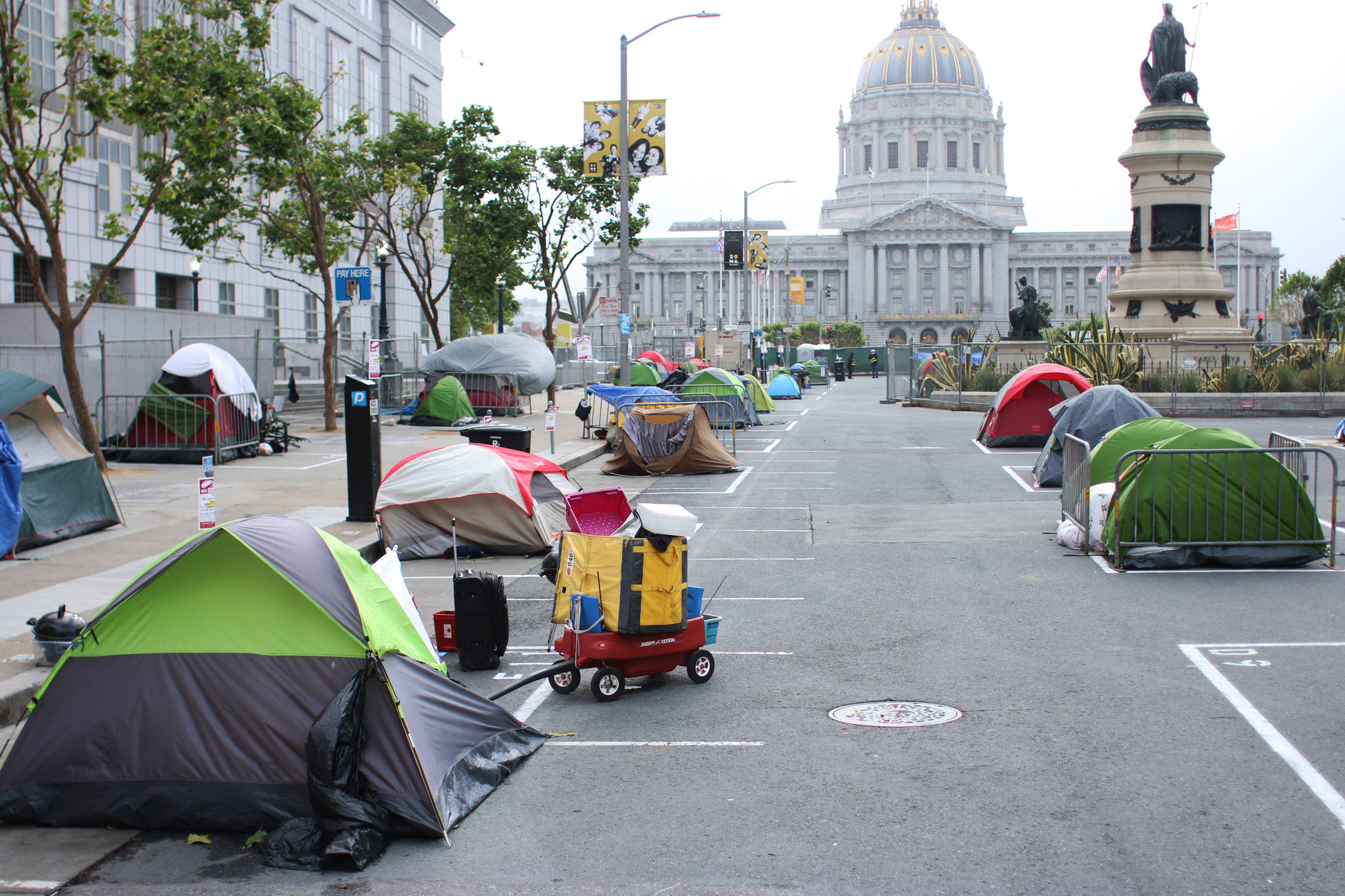 San Francisco homeless camp to be removed Monday
