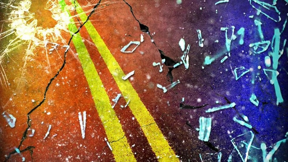 Woman died in a single vehicle collision
